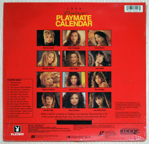 LaserDisc: Playboy Video Playmate Calendar 1996 (NM)