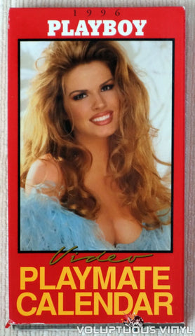 Playboy Video Playmate Calendar 1996 - VHS - Front Cover