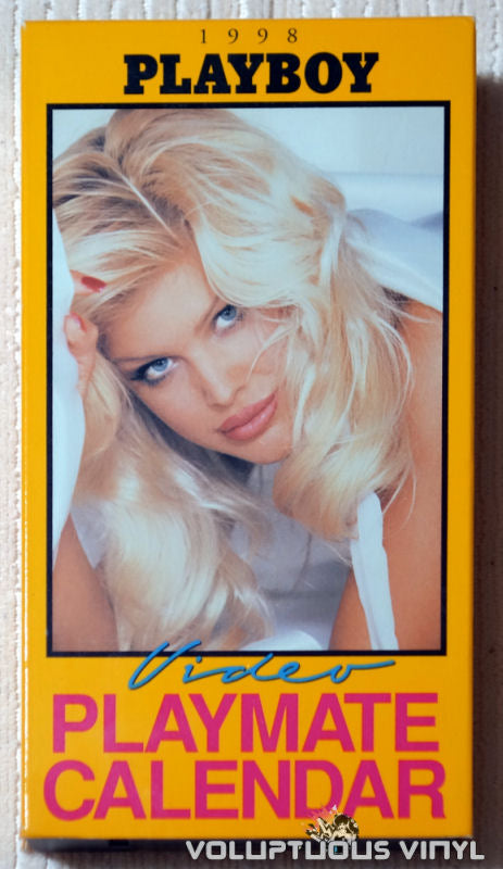 Playboy Video Playmate Calendar 1998 - VHS - Front Cover