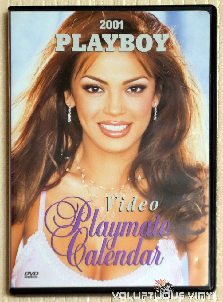Playboy Video Playmate Calendar 2001 - DVD - Front Cover