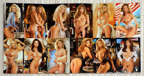 Playboy Video Playmate Calendar 2001 - DVD - Mini Fold Out Calendar