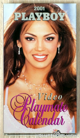 Playboy Video Playmate Calendar 2001 - VHS Tape - Front Cover