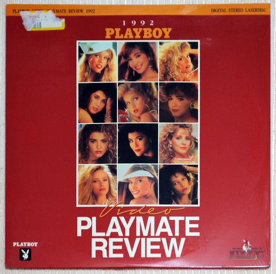Playboy Video Playmate Review 1992 Laser Disc Front Cover