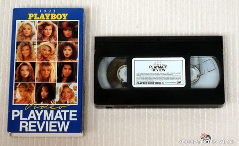 Playboy Video Playmate Review 1993 - VHS Tape