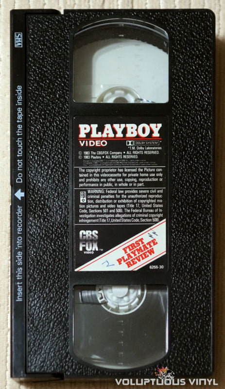 Playboy Video Playmate Review - VHS Tape