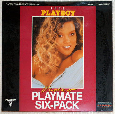 Playboy Video Playmate Six-Pack 1992 Laser Disc Front Cover