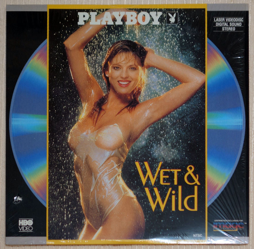 Playboy Wet & Wild #1 Laser Disc Front Cover