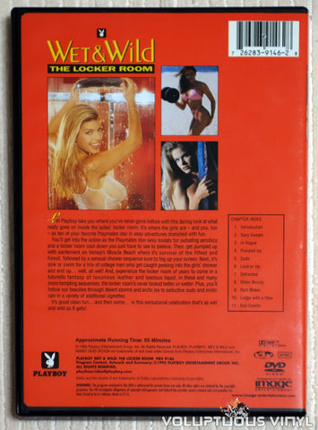 Playboy Wet & Wild VI: The Locker Room - DVD - Back Cover