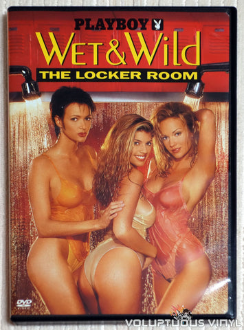 Playboy Wet & Wild VI: The Locker Room - DVD - Front Cover