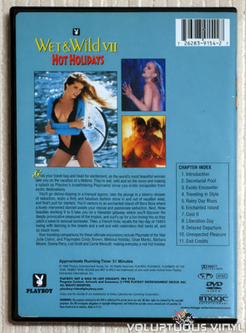 Playboy Wet & Wild VII: Hot Holidays - DVD - Back Cover
