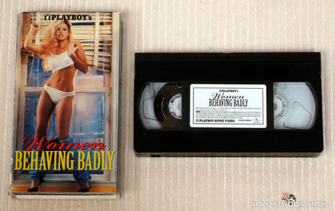 Playboy's Women Behaving Badly - VHS Tape