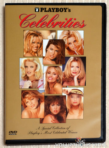 Playboy's Celebrities - DVD - Front Cover