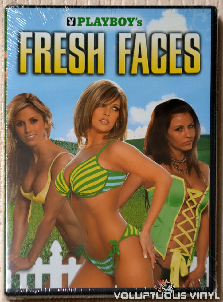 Playboy's Fresh Faces DVD front cover