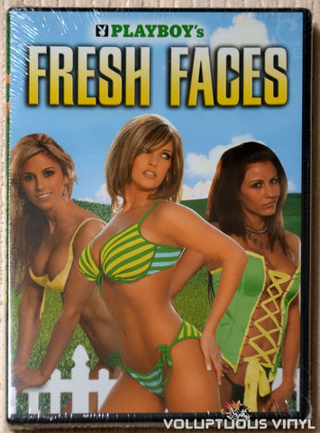 Playboy's Fresh Faces (2007) DVD SEALED