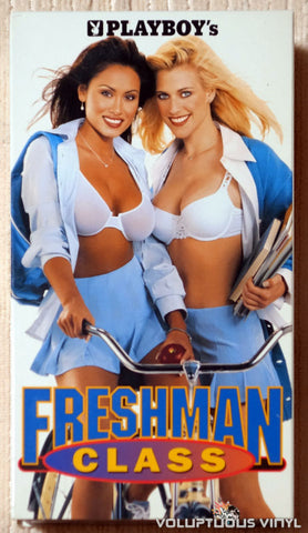 Playboy's Freshman Class - VHS - Front Cover