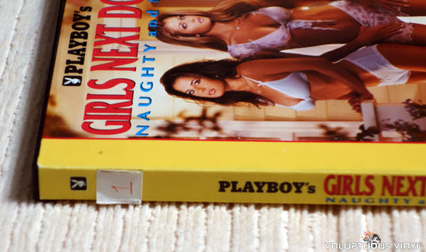Playboy's Girls Next Door, Naughty and Nice - DVD - Spine