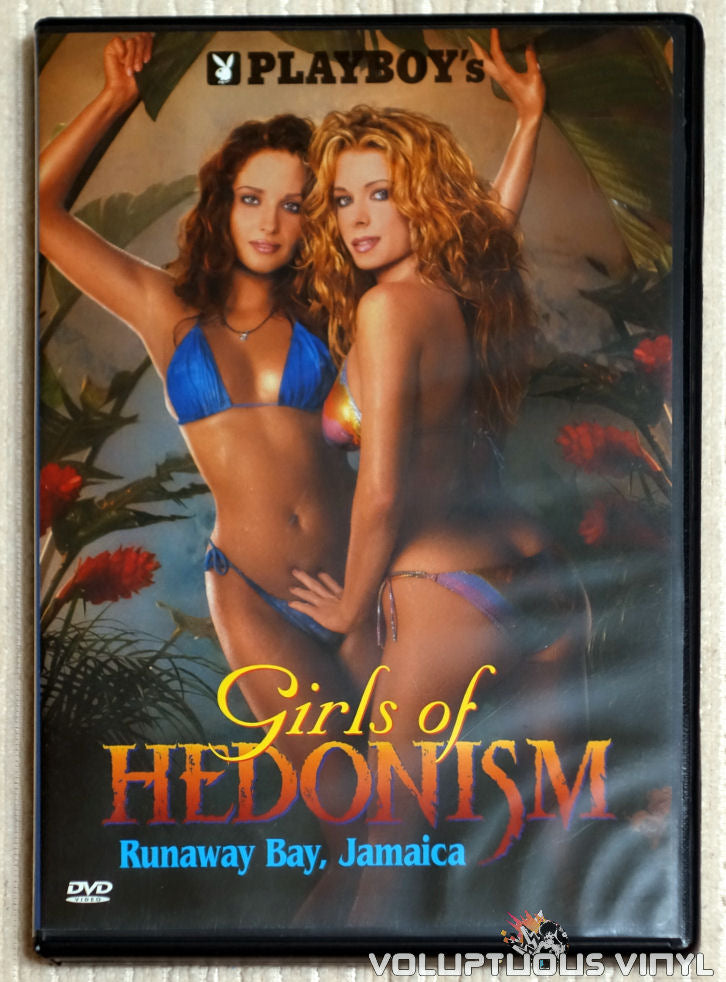 Playboy's Girls Of Hedonism: Runaway Bay, Jamaica - DVD - Front Cover