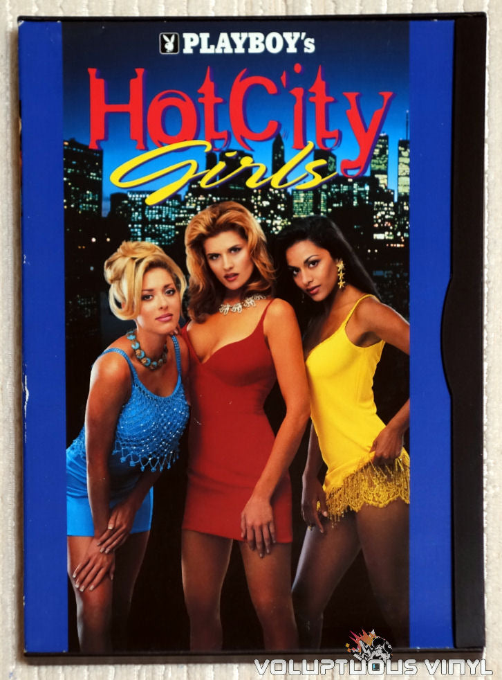 Playboy's Hot City Girls - DVD - Front Cover