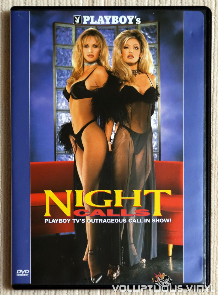 Playboy's Night Calls - DVD - Front Cover