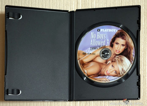 Playboy's No Boys Allowed 3, 100% Girls - DVD