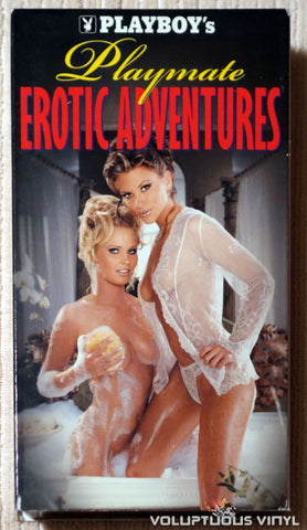 Playboy's Playmate Erotic Adventures - VHS Tape - Front Cover