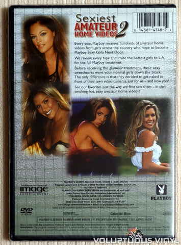 Playboy's Sexiest Amateur Home Videos 2 - DVD - Back Cover