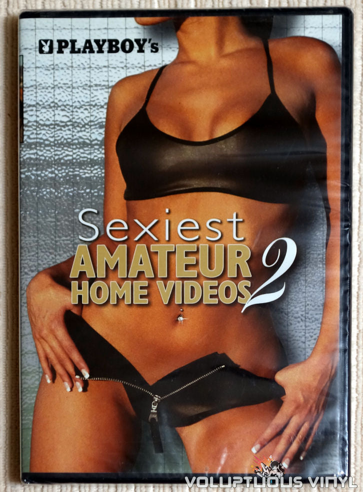 Playboy's Sexiest Amateur Home Videos 2 - DVD - Front Cover