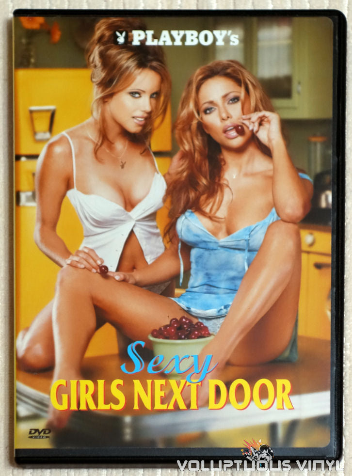 Playboy's Sexy Girls Next Door - DVD - Front Cover