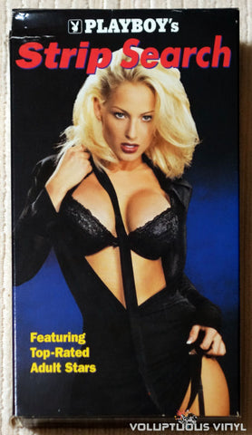 Playboy's Strip Search - VHS Tape - Front Cover