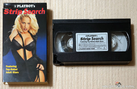 Playboy's Strip Search - VHS Tape