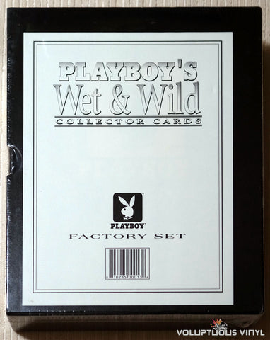 Playboy's Wet & Wild Collector Cards Front