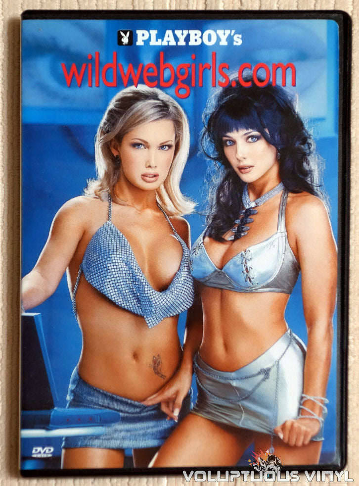 Playboy's wildwebgirls.com - DVD - Front Cover