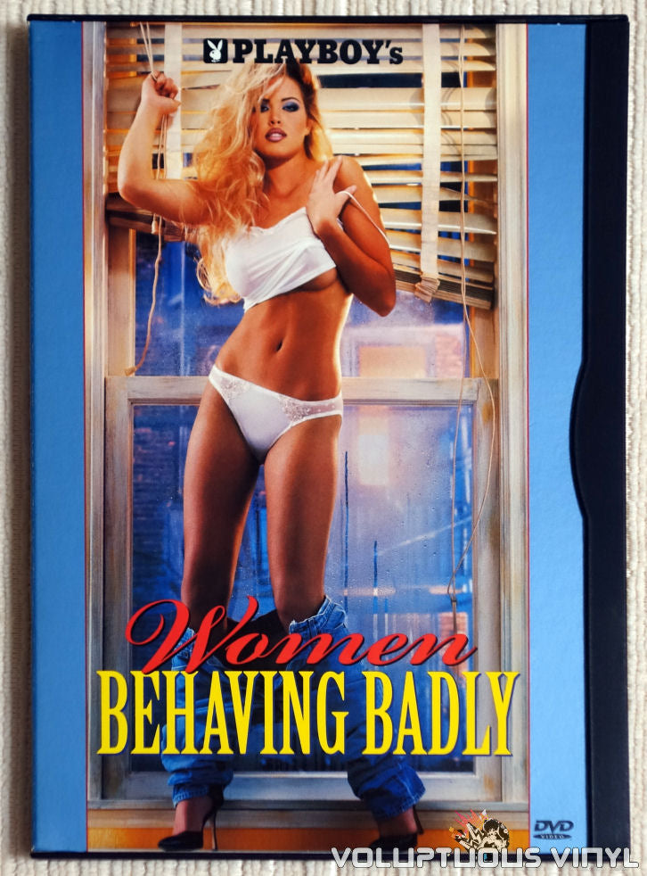 Playboy's Women Behaving Badly - DVD - Front Cover