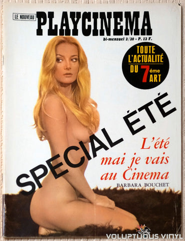 Playcinema Special Edition - July / August 1972 - Barbara Bouchet Cover