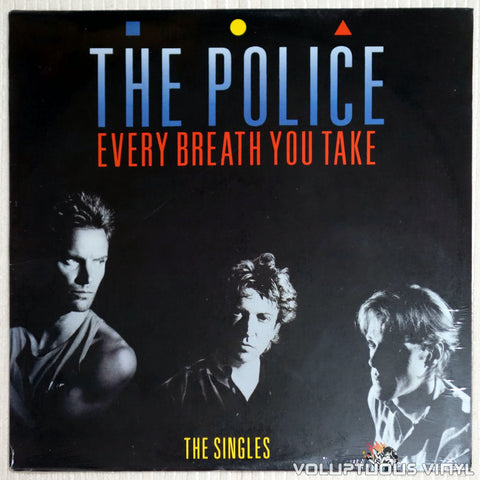 The Police ‎– Every Breath You Take - Vinyl Record - Front Cover