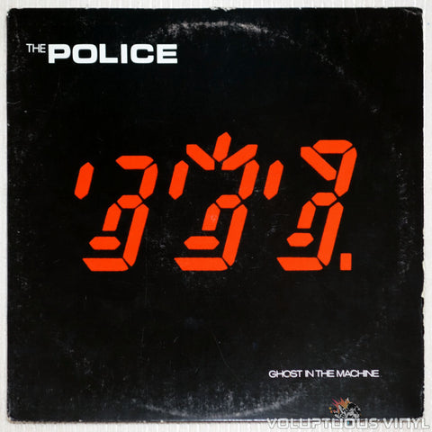 The Police ‎– Ghost In The Machine - Vinyl Record - Front Cover