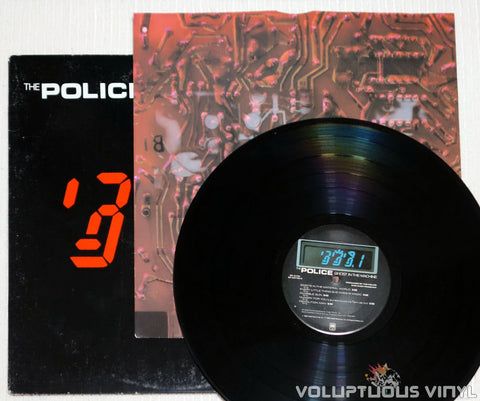The Police ‎– Ghost In The Machine - Vinyl Record