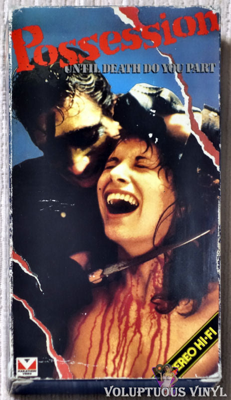 Possession Until Death Do You Part VHS tape front cover