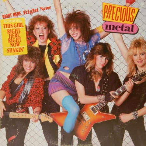 Precious Metal ‎– Right Here, Right Now vinyl record front cover