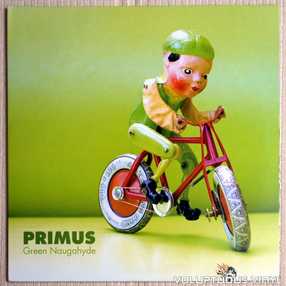 Primus ‎– Green Naugahyde - Vinyl Record - Front Cover