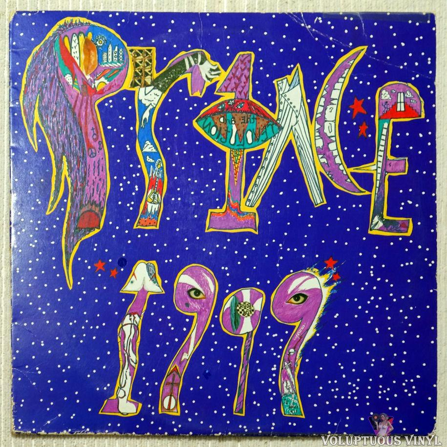 Prince - 1999 vinyl record front cover