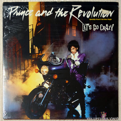 "Prince And The Revolution ‎– Let's Go Crazy (1984) 12"" Single"