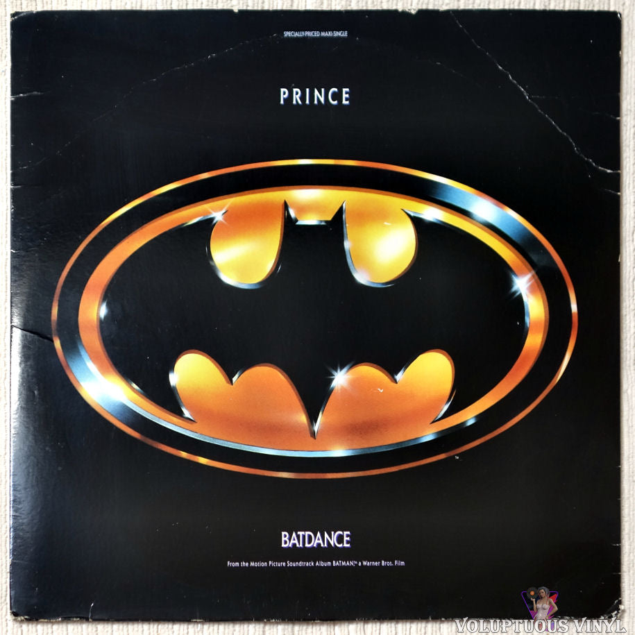 Prince ‎– Batdance vinyl record front cover