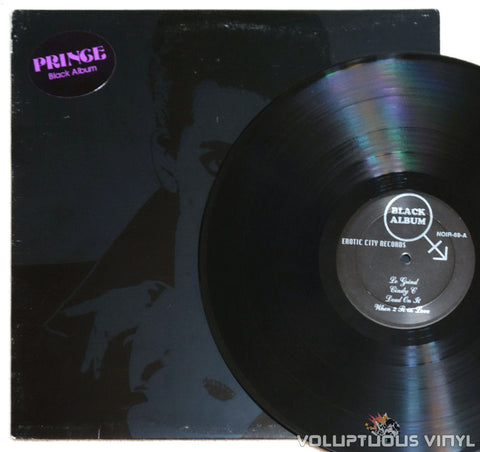 Prince ‎– Black Album - Vinyl Record