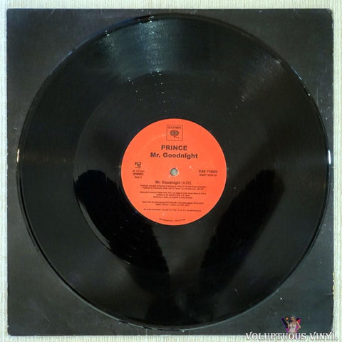 Prince ‎– Chelsea Rodgers vinyl record Side B