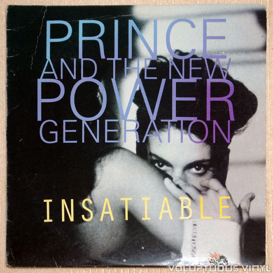 Prince And The New Power Generation ‎– Insatiable - Vinyl Record - Front Cover