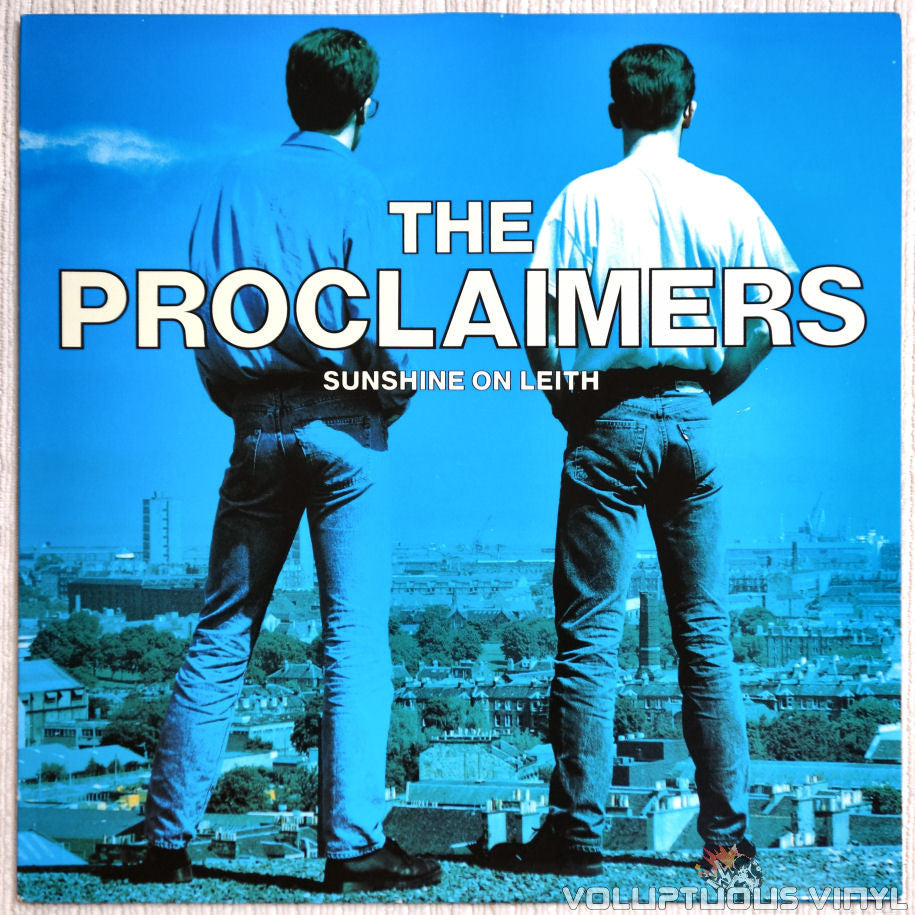 The Proclaimers ‎– Sunshine On Leith - Vinyl Record - Front Cover