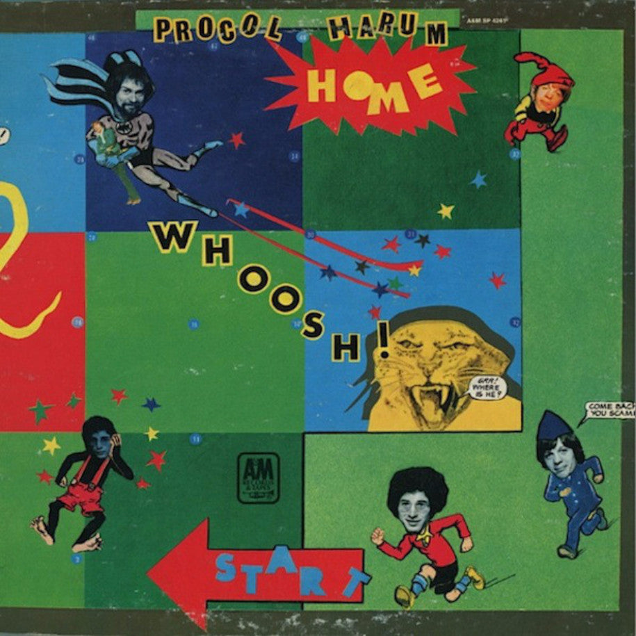 Procol Harum ‎– Home - Vinyl Record - Front Cover