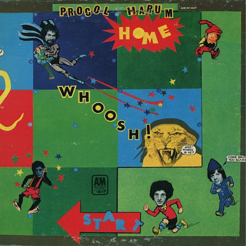 Procol Harum ‎– Home (1970) Vinyl Record