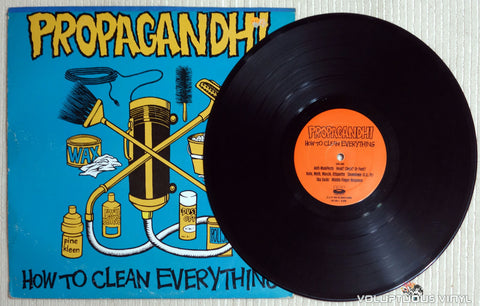 Propagandhi ‎– How To Clean Everything - Vinyl Record